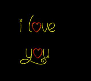 I Love You - Obrázkek zdarma pro 208x208