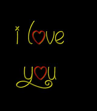 I Love You - Obrázkek zdarma pro 240x400