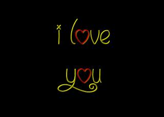 I Love You - Obrázkek zdarma pro 1152x864