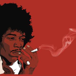 Jimi Hendrix - Obrázkek zdarma pro iPad Air