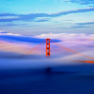 San Francisco Golden Gate Bridge - Obrázkek zdarma pro 1024x1024