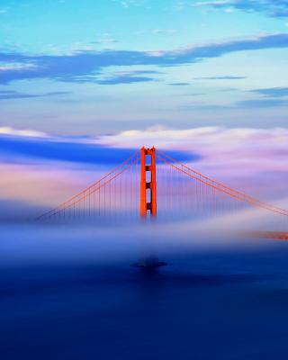 San Francisco Golden Gate Bridge - Obrázkek zdarma pro 128x160