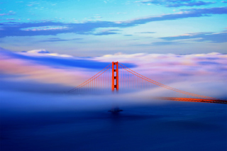 Free San Francisco Golden Gate Bridge Picture for Android, iPhone and iPad