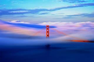 San Francisco Golden Gate Bridge - Obrázkek zdarma pro Android 320x480