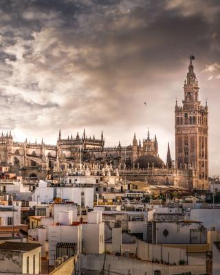 Sevilla - Obrázkek zdarma pro 768x1280