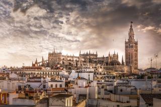 Sevilla - Obrázkek zdarma pro Samsung Galaxy Tab 4 7.0 LTE