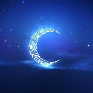 Islamic Moon Ramadan Wallpaper - Obrázkek zdarma pro 128x128