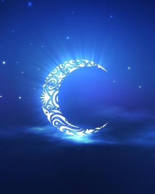 Islamic Moon Ramadan Wallpaper - Obrázkek zdarma pro Nokia Asha 305