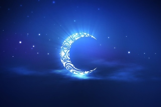 Free Islamic Moon Ramadan Wallpaper Picture for Android, iPhone and iPad