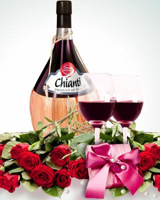 Chianti Wine - Obrázkek zdarma pro Nokia Asha 203