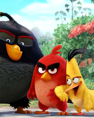 The Angry Birds Comedy Movie 2016 - Obrázkek zdarma pro iPhone 5S