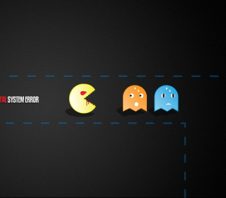 Pacman Yum-Yum - Obrázkek zdarma pro 320x320