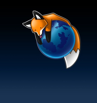 Tired Firefox - Obrázkek zdarma pro 208x208