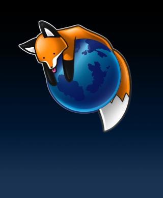 Tired Firefox - Obrázkek zdarma pro Nokia X3