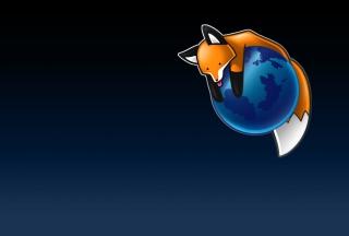 Tired Firefox - Obrázkek zdarma pro Samsung Galaxy Tab 3 10.1