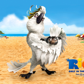 Rio, Antagonist Nigel - Obrázkek zdarma pro iPad