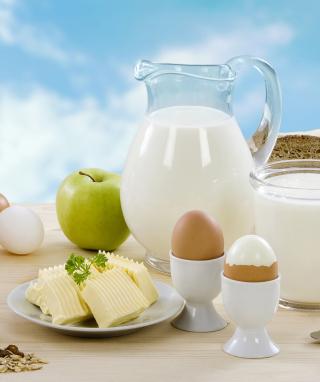 Breakfast - Obrázkek zdarma pro iPhone 5C