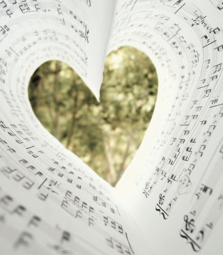 Love Music - Obrázkek zdarma pro Nokia C-5 5MP