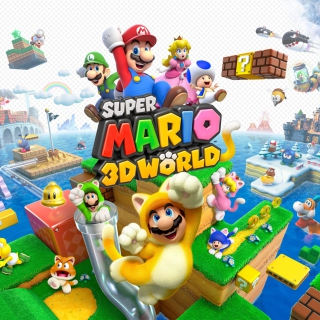 Super Mario 3D World - Obrázkek zdarma pro iPad Air
