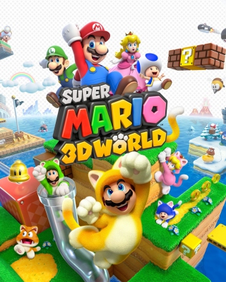 Super Mario 3D World - Obrázkek zdarma pro Nokia C3-01 Gold Edition