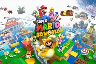 Super Mario 3D World - Obrázkek zdarma pro Samsung Galaxy Ace 4