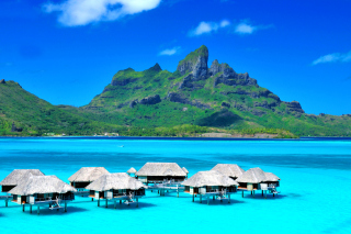 Bora Bora Overwater Bungalow Hotel Picture for Android, iPhone and iPad