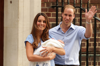 Royal Family Kate Middleton and William Prince - Obrázkek zdarma pro Fullscreen Desktop 1280x960