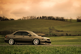 Subaru Impreza Wallpaper for Android, iPhone and iPad