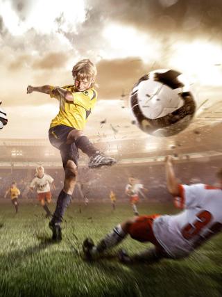 Football Goal - Obrázkek zdarma pro Nokia C-5 5MP