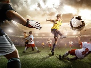 Football Goal - Obrázkek zdarma pro Sony Xperia Tablet S