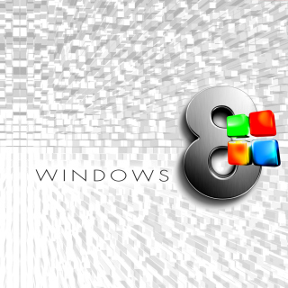 Windows 8 Logo Wallpaper - Obrázkek zdarma pro iPad