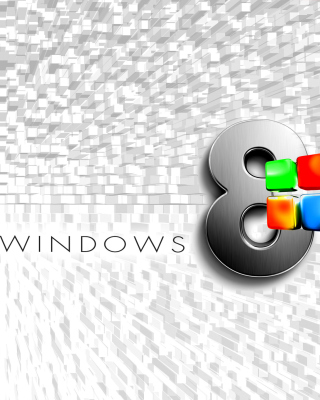 Windows 8 Logo Wallpaper - Obrázkek zdarma pro iPhone 5S