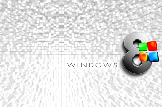 Windows 8 Logo Wallpaper - Obrázkek zdarma pro Widescreen Desktop PC 1920x1080 Full HD