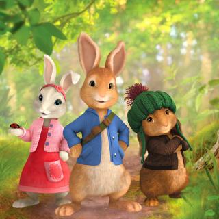 The Tale of Peter Rabbit - Obrázkek zdarma pro iPad mini