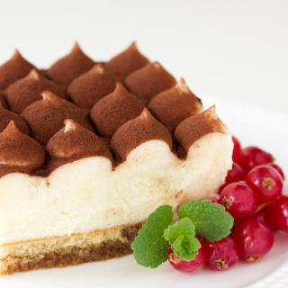 Tiramisu Coffee Flavored Italian Dessert - Obrázkek zdarma pro iPad