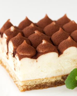 Tiramisu Coffee Flavored Italian Dessert - Fondos de pantalla gratis para Blackberry RIM Torch 9800