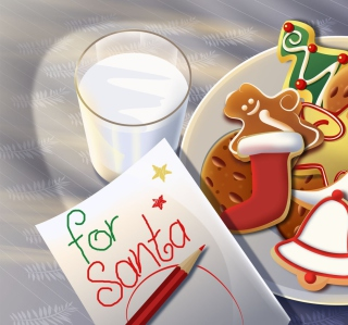 Sweets For Santa - Obrázkek zdarma pro iPad mini 2