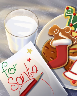 Sweets For Santa - Obrázkek zdarma pro Nokia C-5 5MP