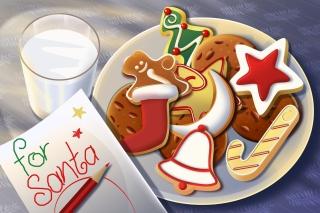 Sweets For Santa - Obrázkek zdarma pro 960x854