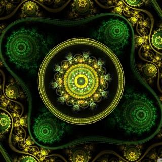 Celtic Flower - Obrázkek zdarma pro iPad mini 2