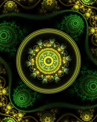 Celtic Flower - Obrázkek zdarma pro Nokia Asha 502