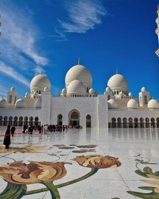 Free Sheikh Zayed Mosque located in Abu Dhabi Picture for Nokia N8