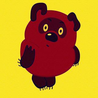 Russian Cartoon Character Winnie Pooh - Obrázkek zdarma pro iPad mini 2