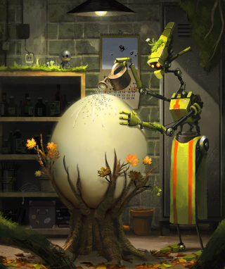 Hidden Nature - Obrázkek zdarma pro Nokia Asha 501