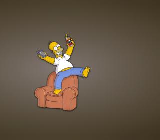 Homer Simpson - Obrázkek zdarma pro iPad