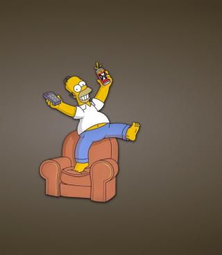 Homer Simpson - Obrázkek zdarma pro Nokia C-Series