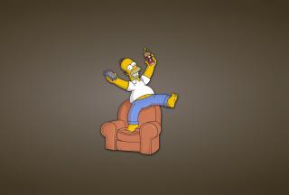Homer Simpson - Obrázkek zdarma pro Nokia Asha 302