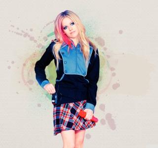 Avril Lavigne - Obrázkek zdarma pro 1024x1024
