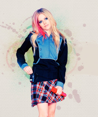 Avril Lavigne - Obrázkek zdarma pro Nokia C7