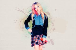 Avril Lavigne - Obrázkek zdarma pro HTC Wildfire